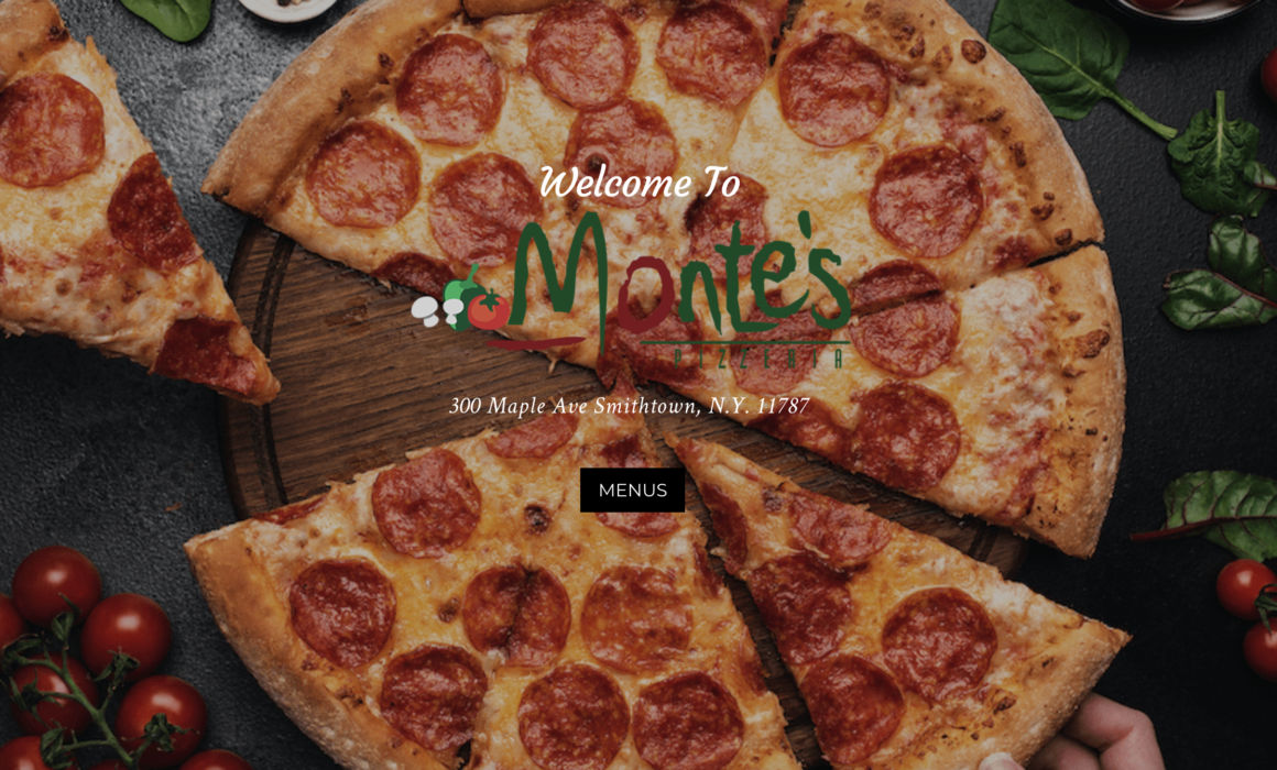 Montes Pizzeria Launches A New Website